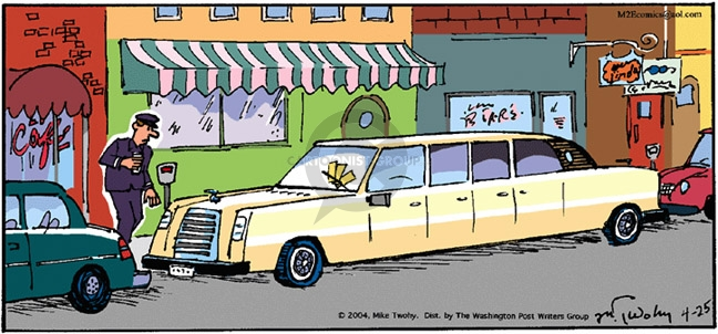 Comic Strip Mike Twohy  That's Life 2004-04-25 parking