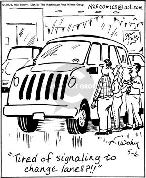 Comic Strip Mike Twohy  That's Life 2004-05-06 vehicle