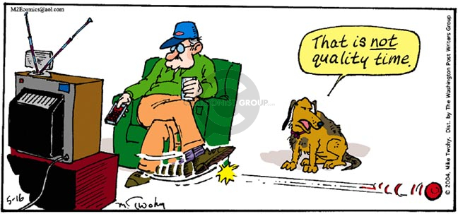 Comic Strip Mike Twohy  That's Life 2004-05-16 dog