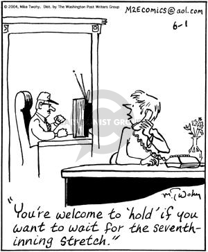 Comic Strip Mike Twohy  That's Life 2004-06-01 baseball