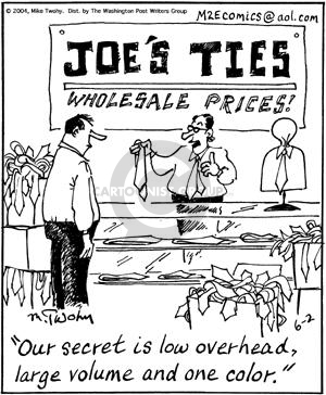 Comic Strip Mike Twohy  That's Life 2004-06-02 salesman