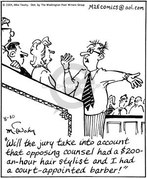 Cartoonist Mike Twohy  That's Life 2004-08-30 jury
