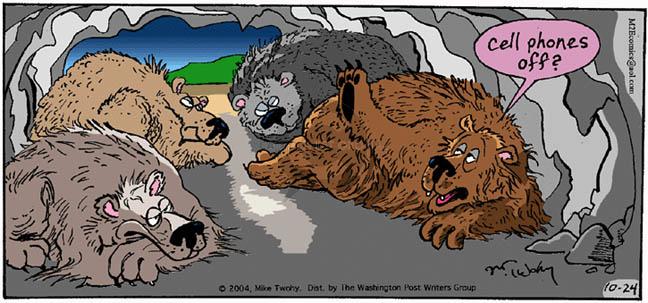 Comic Strip Mike Twohy  That's Life 2004-10-24 asleep