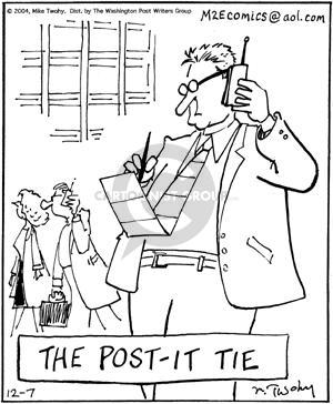 The Post-it Tie.
