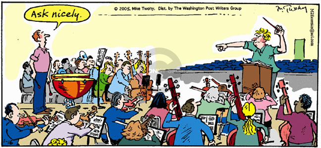 Comic Strip Mike Twohy  That's Life 2005-01-16 request