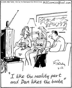 Comic Strip Mike Twohy  That's Life 2005-03-12 spouse