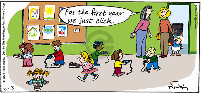 Comic Strip Mike Twohy  That's Life 2005-03-13 education