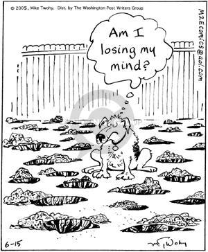 Comic Strip Mike Twohy  That's Life 2005-06-15 dog bone