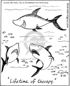 Comic Strip Mike Twohy  That's Life 2005-06-21 fish