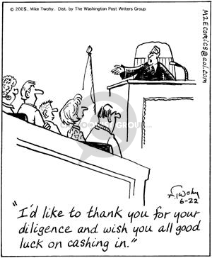 Cartoonist Mike Twohy  That's Life 2005-06-22 jury