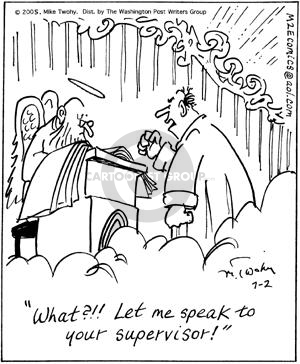 Comic Strip Mike Twohy  That's Life 2005-07-02 service