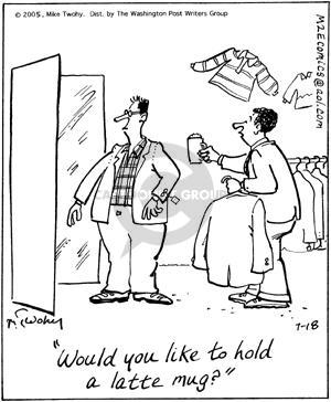 Comic Strip Mike Twohy  That's Life 2005-07-18 shopper