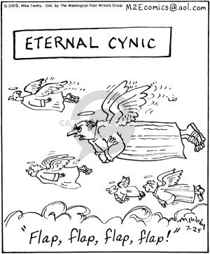 Cartoonist Mike Twohy  That's Life 2005-07-25 eternal life