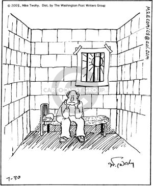 Cartoonist Mike Twohy  That's Life 2005-07-30 cell