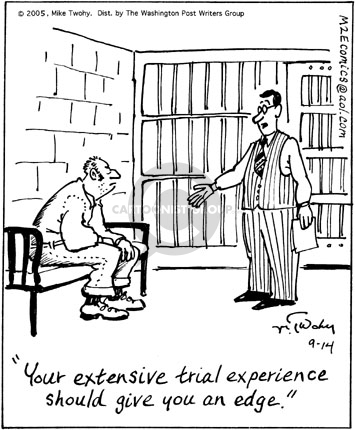 Cartoonist Mike Twohy  That's Life 2005-09-14 cell