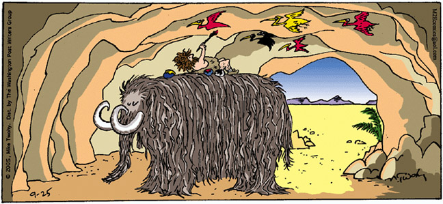 Comic Strip Mike Twohy  That's Life 2005-09-25 animal