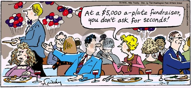 Comic Strip Mike Twohy  That's Life 2005-10-09 plate