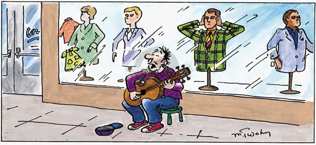 Comic Strip Mike Twohy  That's Life 2007-03-25 music