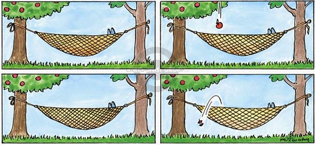 Comic Strip Mike Twohy  That's Life 2007-09-30 tree