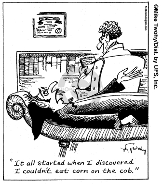 Comic Strip Mike Twohy  That's Life 2007-05-03 dentistry