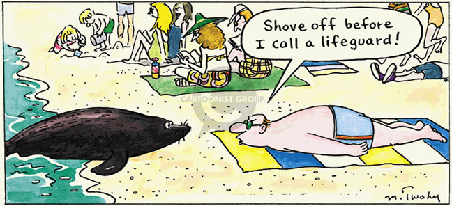 Comic Strip Mike Twohy  That's Life 2007-10-14 call