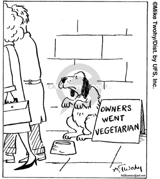 Cartoonist Mike Twohy  That's Life 2006-11-14 nutrition