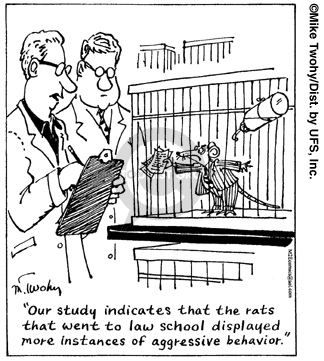 Comic Strip Mike Twohy  That's Life 2007-12-21 research