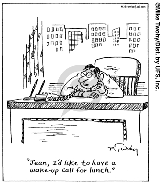 Cartoonist Mike Twohy  That's Life 2007-12-22 business