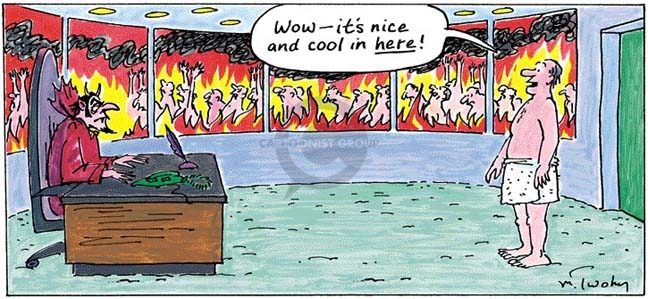 Comic Strip Mike Twohy  That's Life 2008-01-06 heat