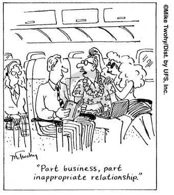 Comic Strip Mike Twohy  That's Life 2007-08-07 travel