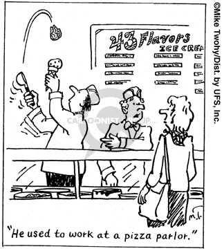Cartoonist Mike Twohy  That's Life 2007-03-10 employment training
