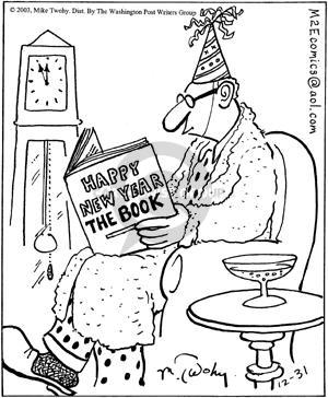 Comic Strip Mike Twohy  That's Life 2003-12-31 festivity