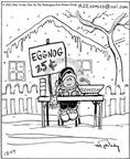 Cartoonist Mike Twohy  That's Life 2002-12-17 little