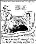 Cartoonist Mike Twohy  That's Life 2002-12-23 professional