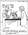 Cartoonist Mike Twohy  That's Life 2003-01-09 animal doctor