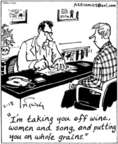 Cartoonist Mike Twohy  That's Life 2003-02-18 medical