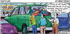 Cartoonist Mike Twohy  That's Life 2003-03-23 sport