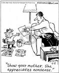 Cartoonist Mike Twohy  That's Life 2003-04-08 parent