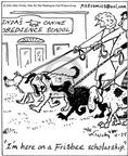 Cartoonist Mike Twohy  That's Life 2003-04-24 pet the dog