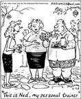 Cartoonist Mike Twohy  That's Life 2003-04-29 fitness