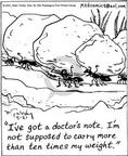 Cartoonist Mike Twohy  That's Life 2003-05-21 strong