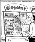 Cartoonist Mike Twohy  That's Life 2003-05-28 birthday