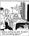 Cartoonist Mike Twohy  That's Life 2003-06-18 medical