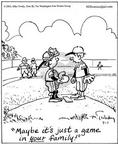 Cartoonist Mike Twohy  That's Life 2003-07-01 catcher