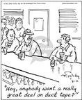 Cartoonist Mike Twohy  That's Life 2003-08-02 tavern