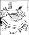 Cartoonist Mike Twohy  That's Life 2003-12-03 royalty