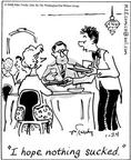 Cartoonist Mike Twohy  That's Life 2004-01-24 patron