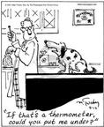 Cartoonist Mike Twohy  That's Life 2003-08-12 animal doctor