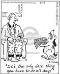 Cartoonist Mike Twohy  That's Life 2003-09-25 attitude