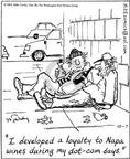 Cartoonist Mike Twohy  That's Life 2003-10-07 loyalty